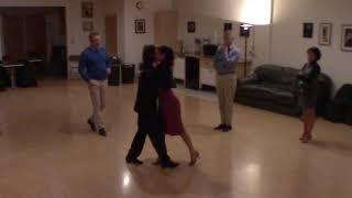 Argentine Tango beginner class with Miranda- forward to backward ocho