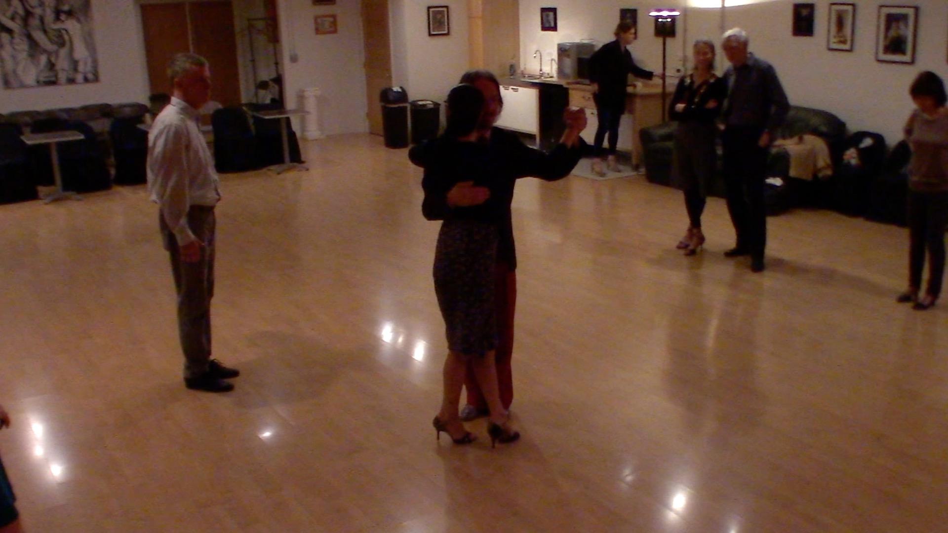 Argentine Tango beginner class with Miranda: ochos 2