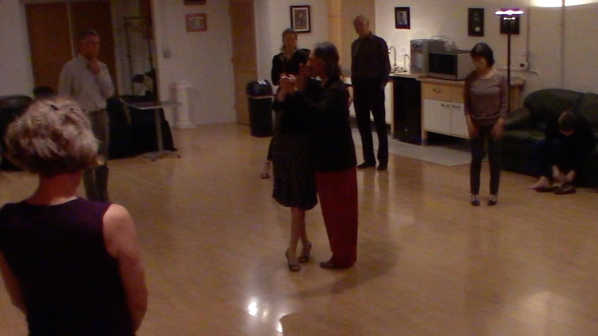 Argentine Tango beginner class with Miranda: ochos
