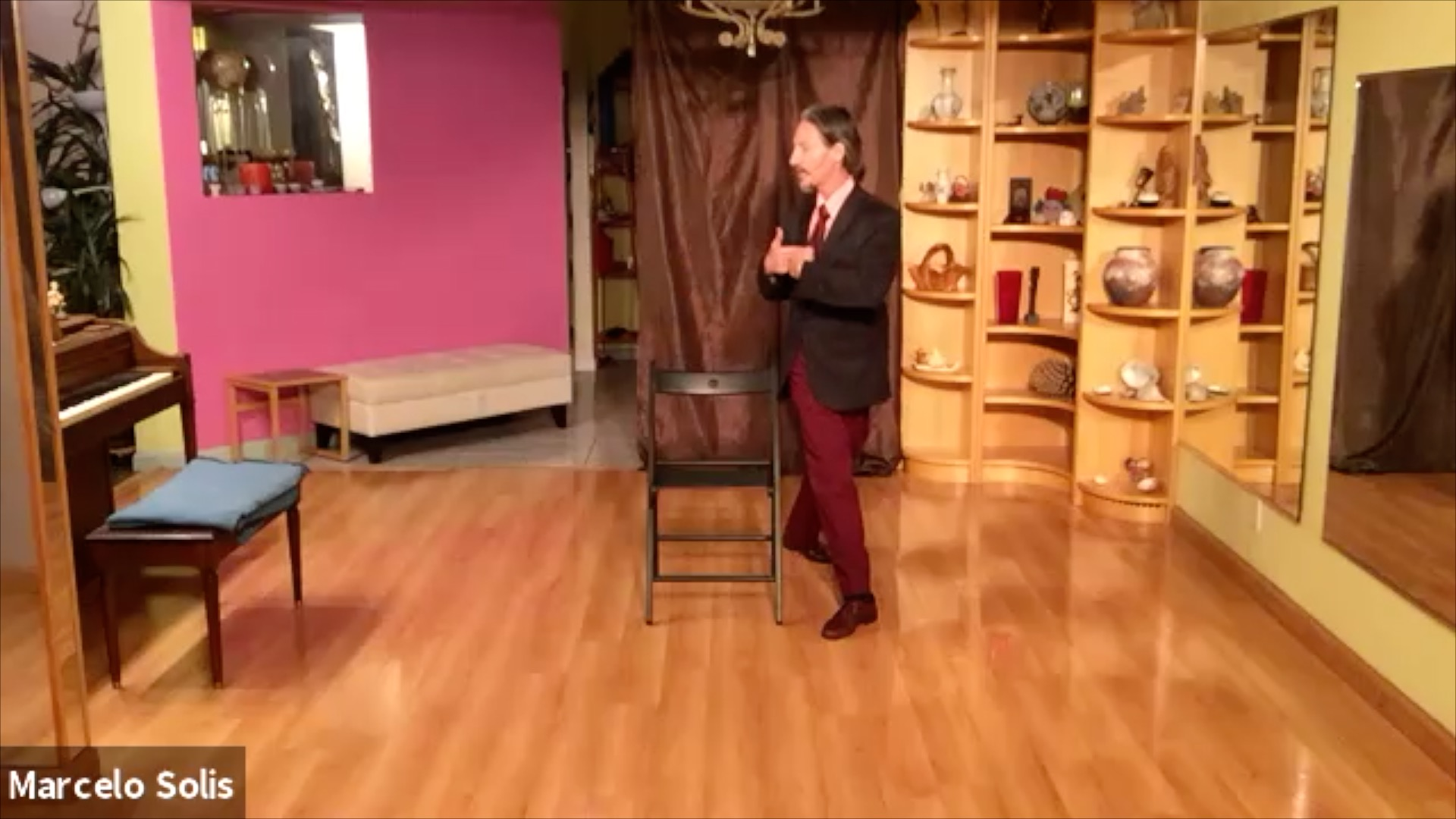Argentine Tango chair exercise