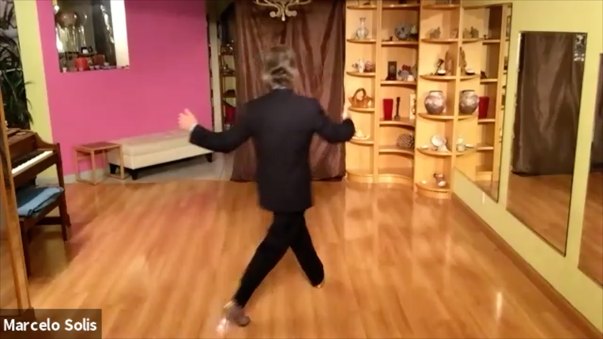 Argentine Tango class: pivots