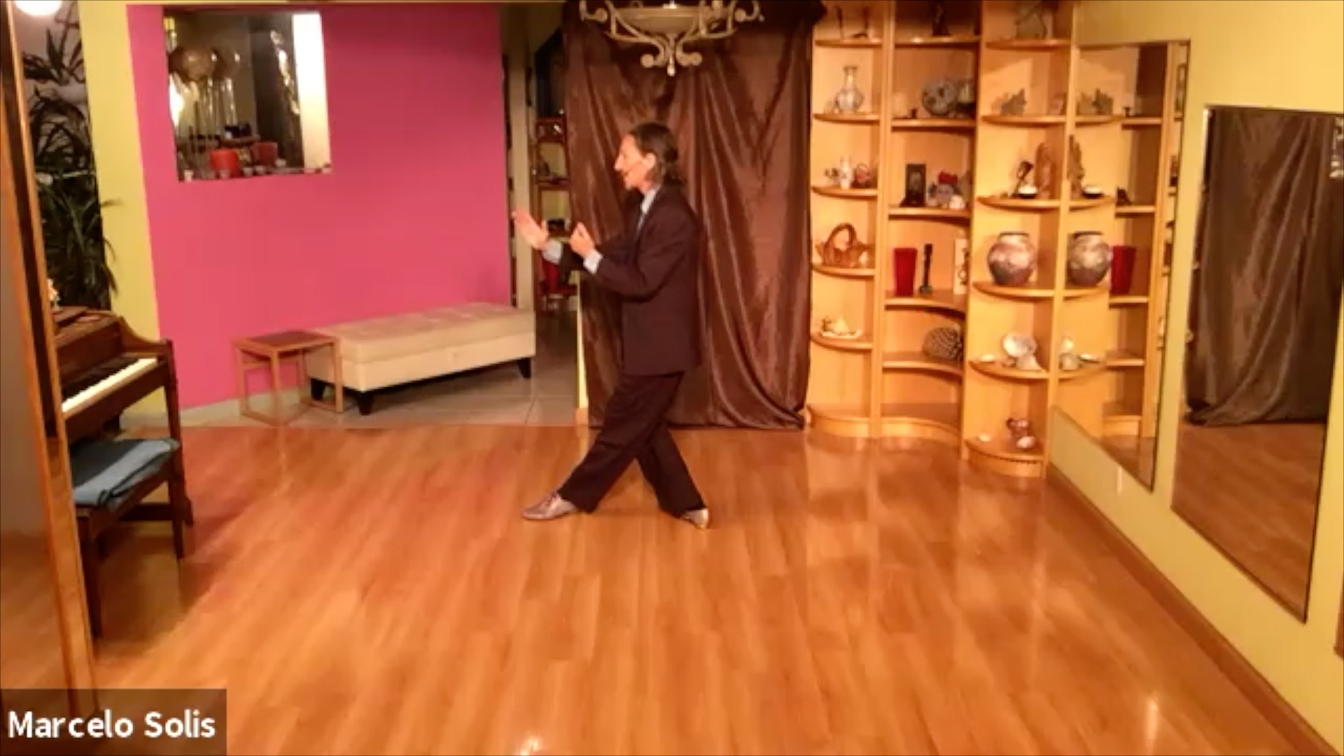 Argentine Tango class: sequence
