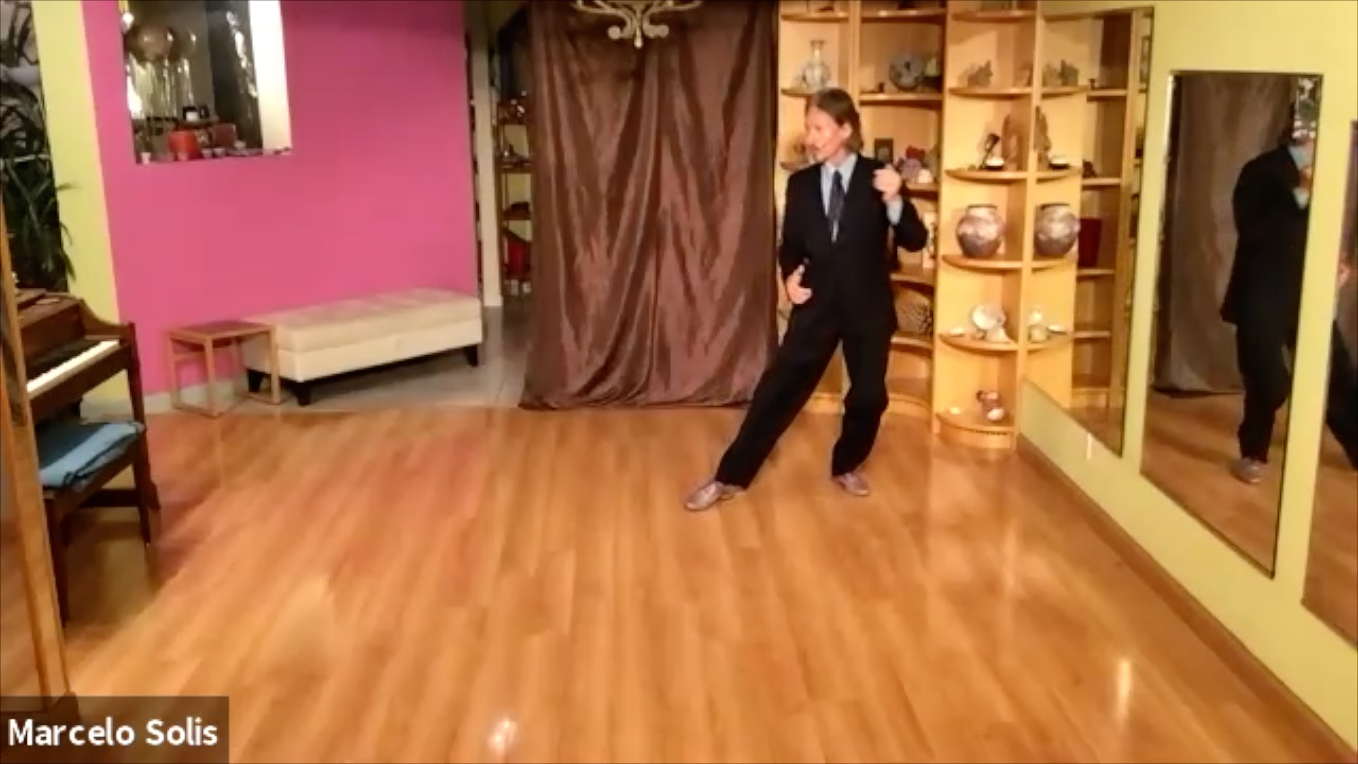Argentine Tango class: sequence continuation