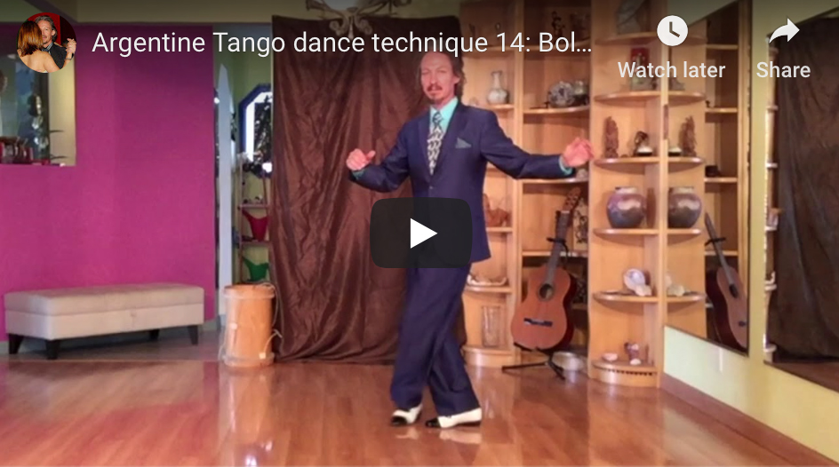 Argentine Tango dance technique 14: Boleo – Technical details and exercises with Marcelo Solis