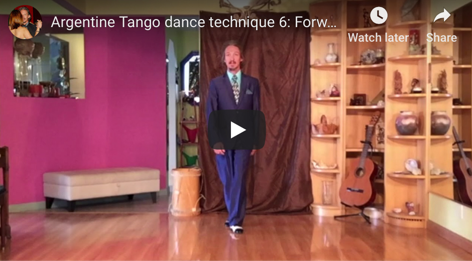 Argentine Tango dance technique 6. With Marcelo Solis.