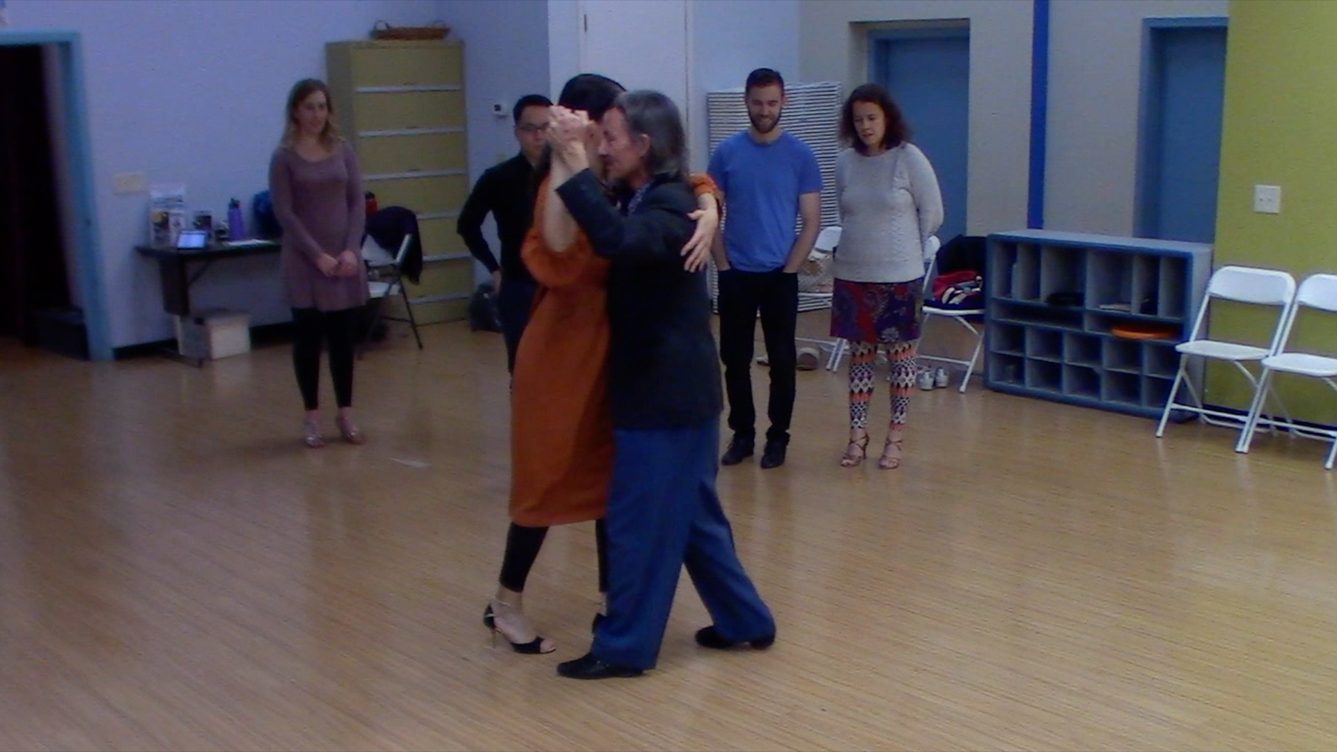 Argentine Tango intermediate class with Mimi: elements for dancing at milongas 1