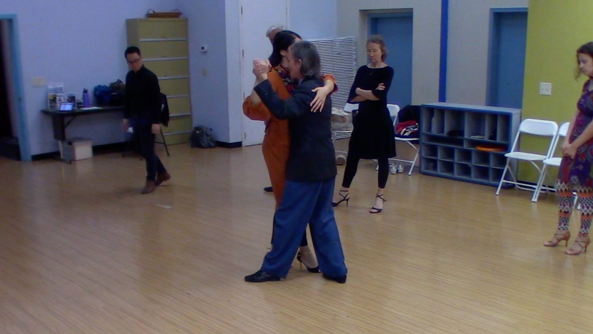 Argentine Tango intermediate class with Mimi: elements for dancing at milongas 2
