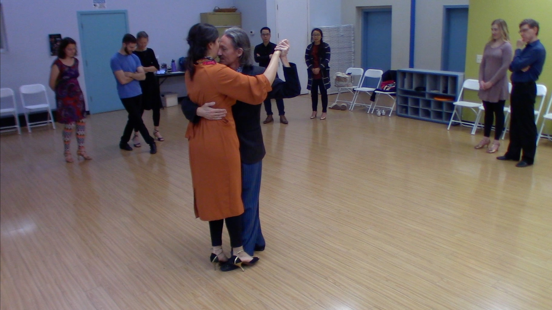 Argentine Tango intermediate class with Mimi: elements for dancing at milongas 5