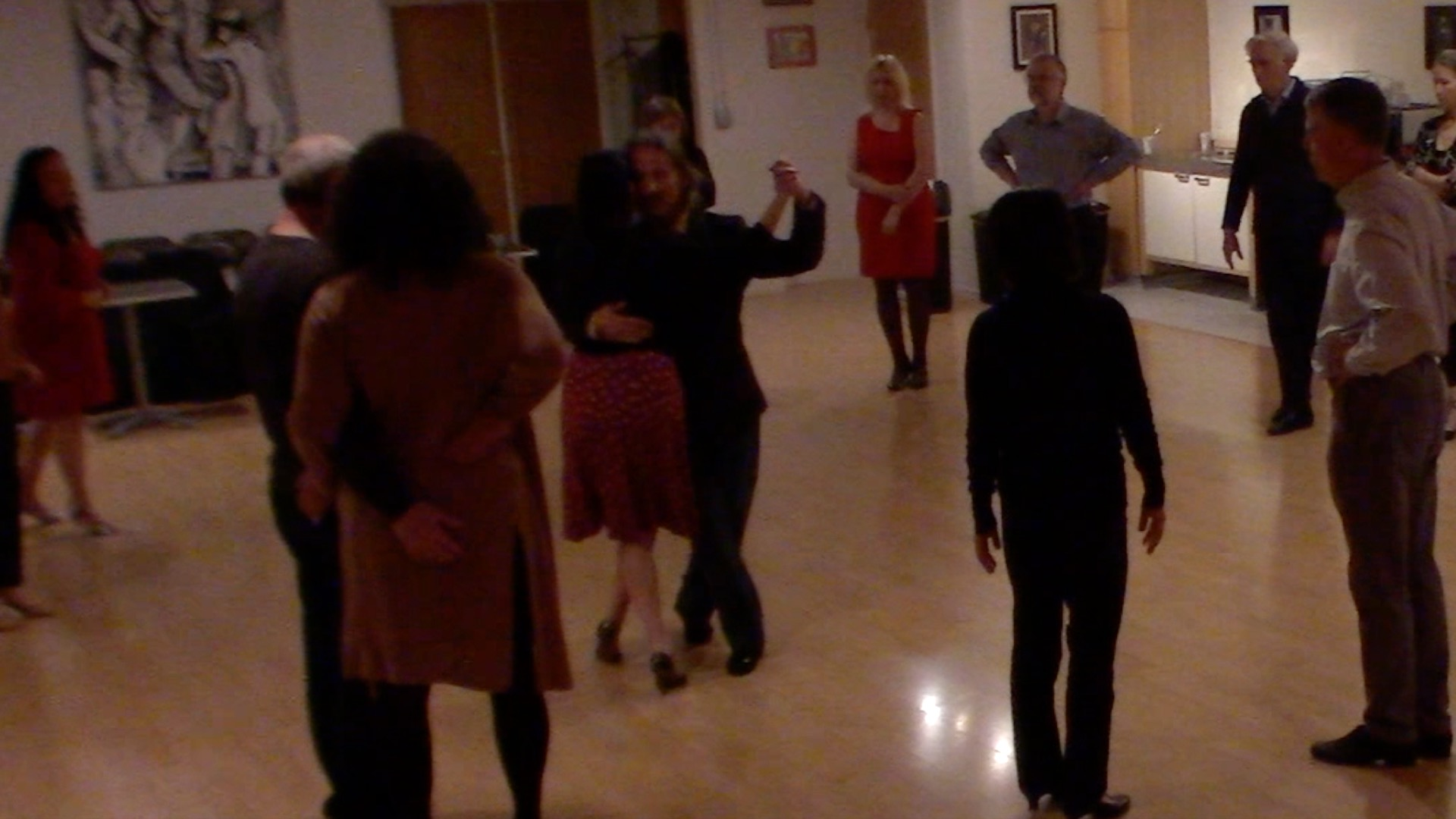 Argentine Tango intermediate class with Miranda: crosses 2