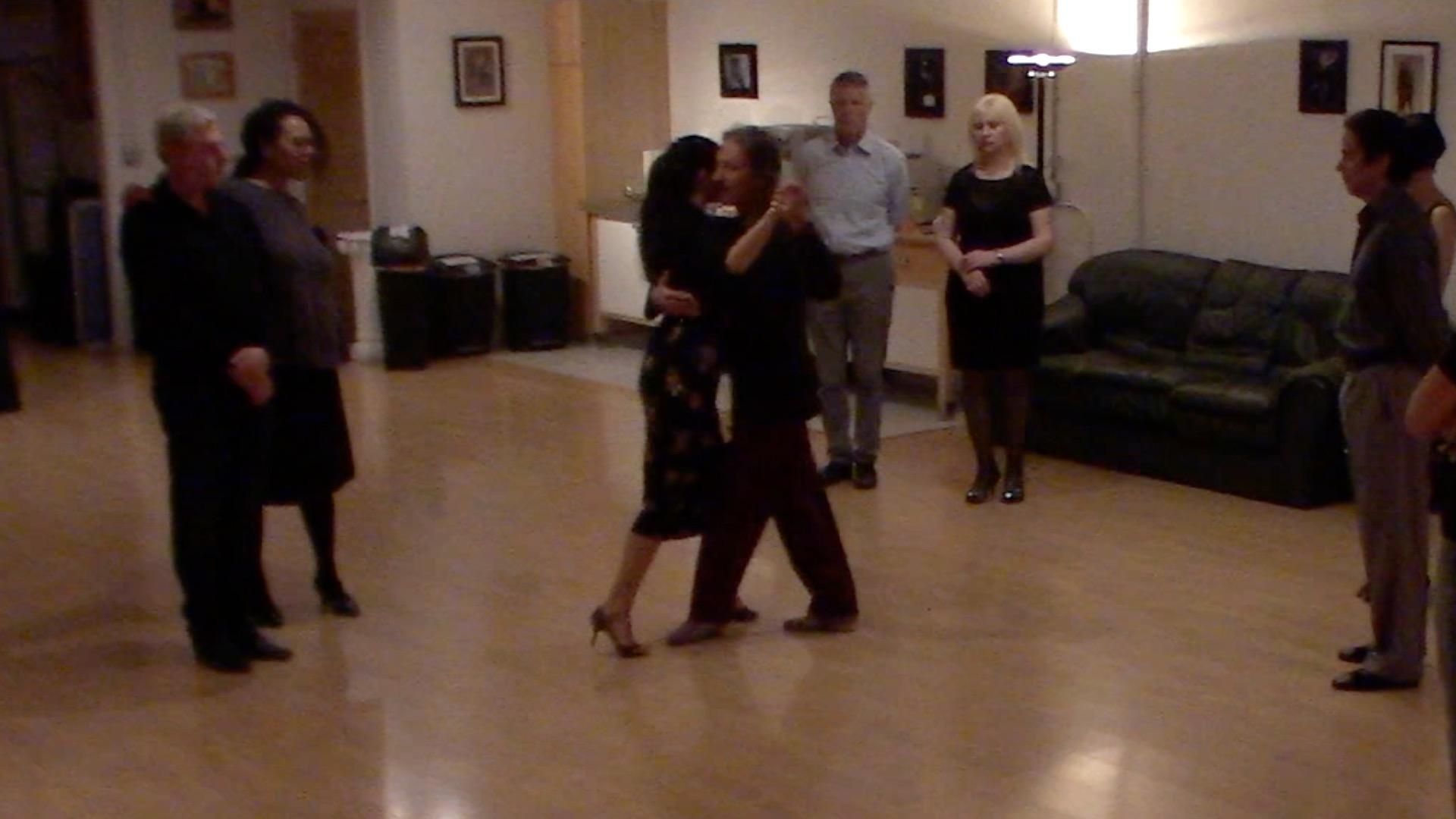 Argentine Tango intermediate class with Miranda: milonga
