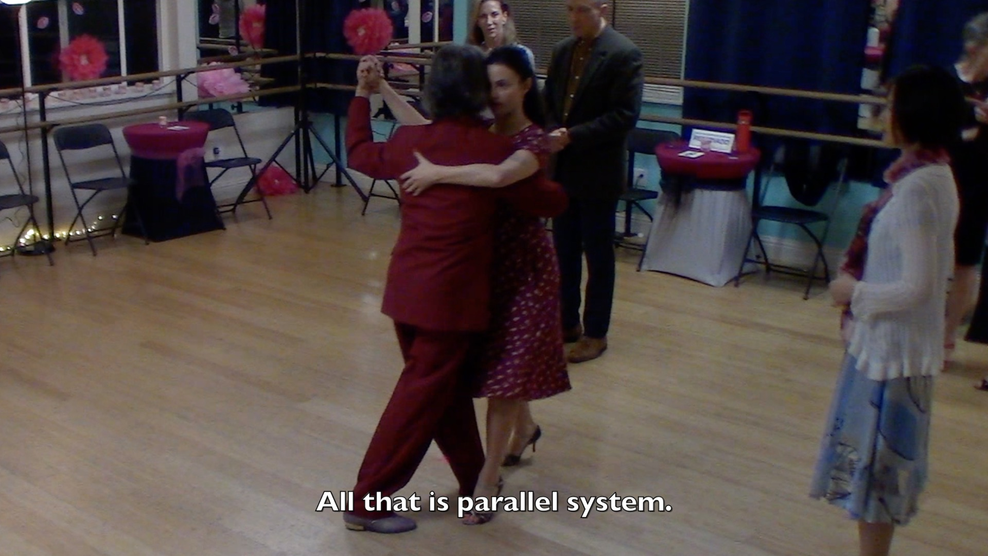 Argentine Tango intermediate class with Miranda: parallel and crossed system explained