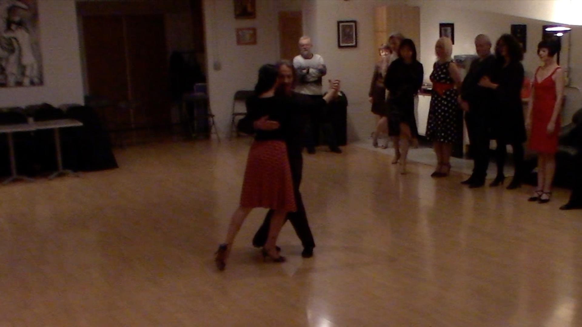 Argentine Tango intermediate class with Miranda: slow in 3