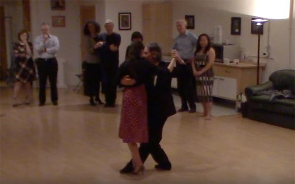 Argentine Tango intermediate class with Miranda_ Forward ocho passing