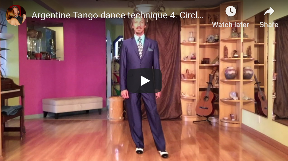 Argentine Tango technique 4. Video classes with Marcelo Solis at Escuela de Tango de Buenos Aires.