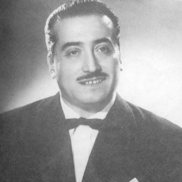 Argentino Galván. Violinist, arranger, leader and compose. Argentine Tango.