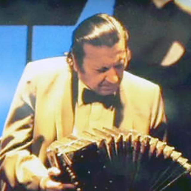 Carlos Lazzari, Argentine Tango musician and composer.