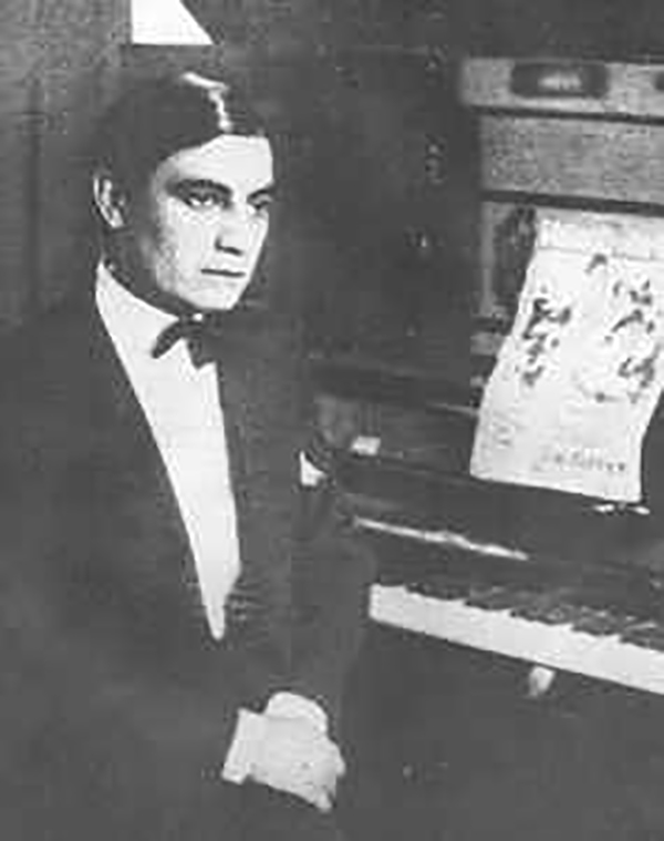 Carlos Vicente Geroni Flores, Argentine Tango pianist, composer and conductor.