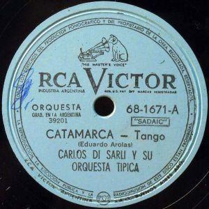 Catamarca. Argentine music at Escuela de Tango de Buenos Aires.