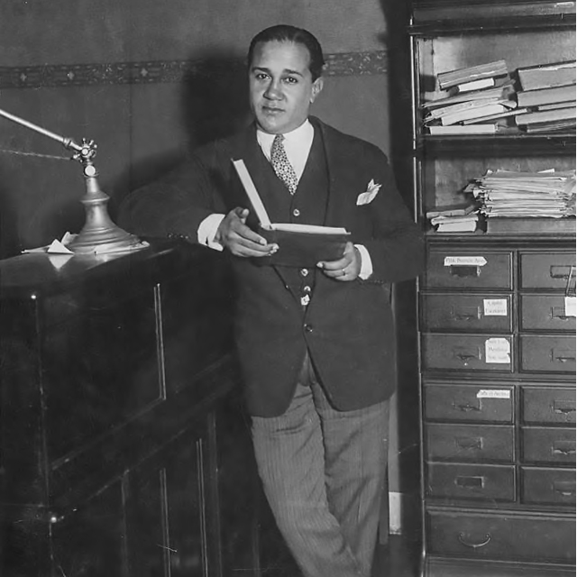 Celedonio Flores, Argentine Tango poet and lyricist.