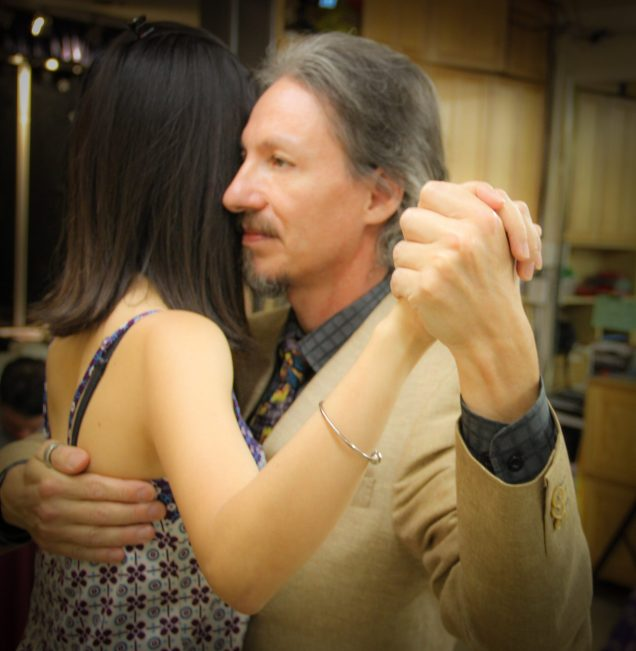 Details in Argentine Tango. Embrace.