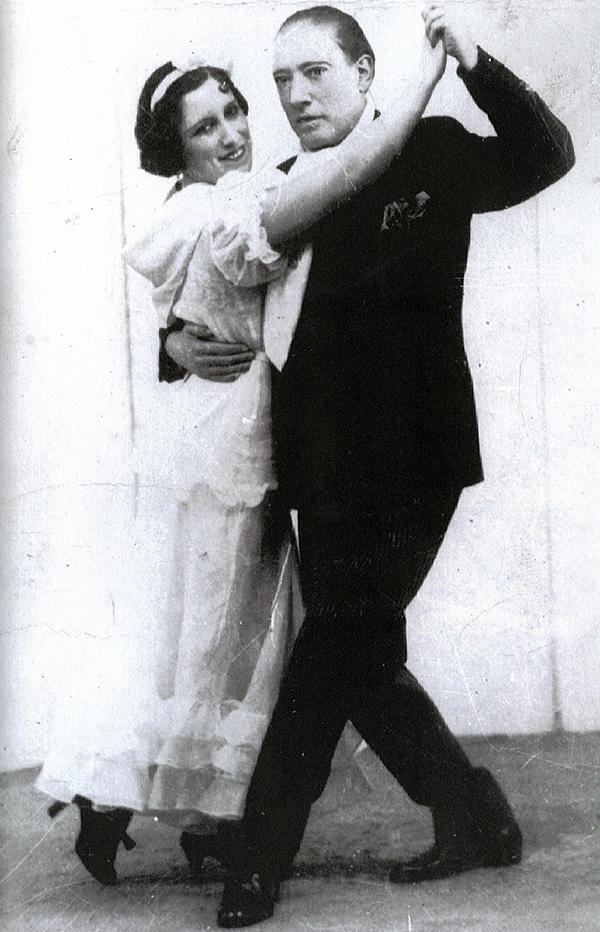 El Cachafaz & Carmencita Calderon, legends of Argentine Tango.