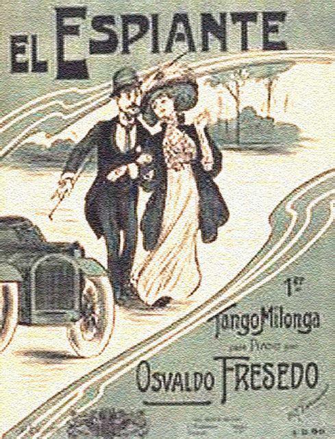 El espiante. Argentine music at Escuela de Tango de Buenos Aires.