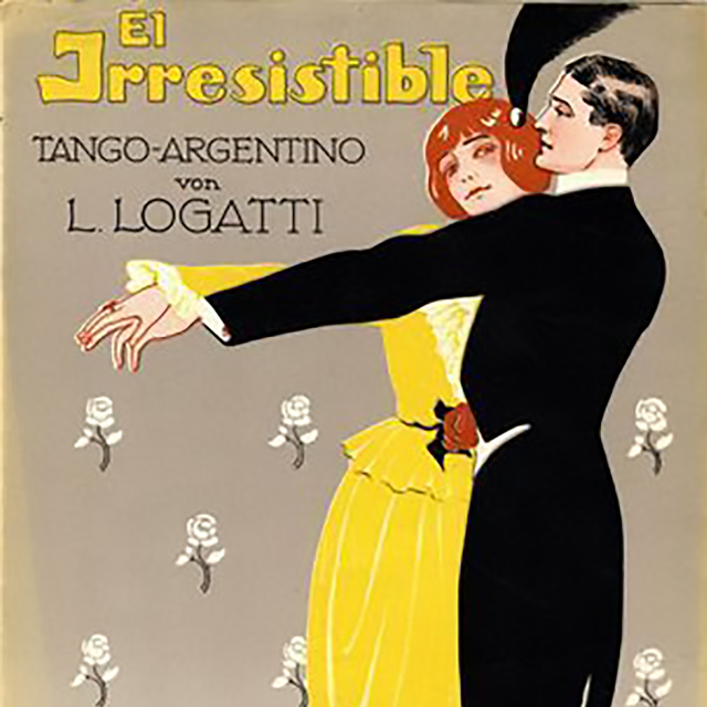 """El irresistible"", Argentine Tango music sheet cover."