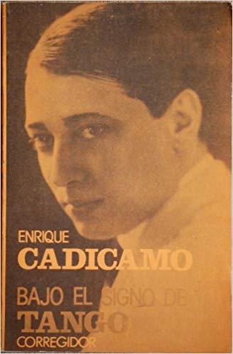 Enrique Cadícamo. Argentine music at Escuela de Tango de Buenos Aires.