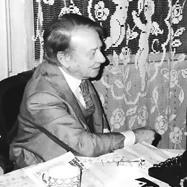 Enrique Cadícamo, Argentine Tango lyricist and composer.