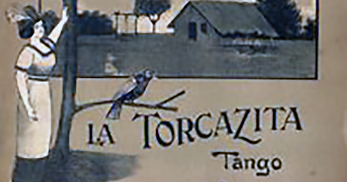 """La torcasita"", Argentine Tango music sheet cover."