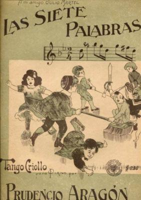 Las siete palabras - tango de Prudencio Aragón. Escuela de Tango de Buenos Aires' music.