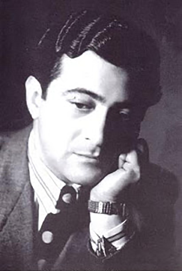 Luis Rubistein, author and composer of Argentine Tangos.