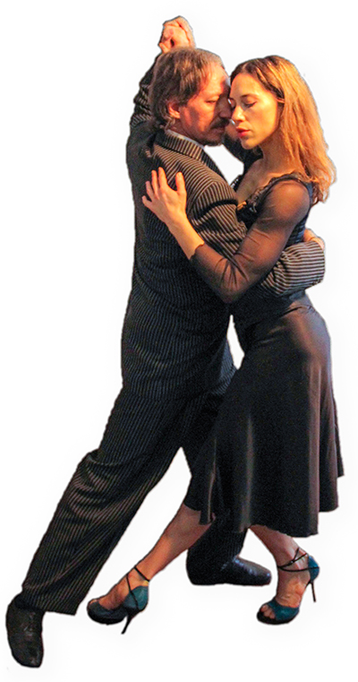 Marcelo Solis dancing Argentine Tango with Sofia