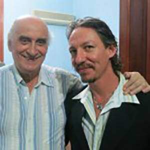 Marcelo Solis and Nestor La Vitola at Argentine Tango Tour to Buenos Aires