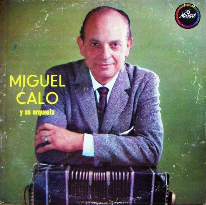 Miguel Caló vinyl cover