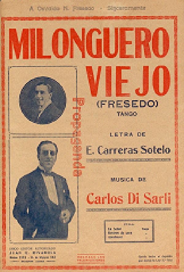 Milonguero viejo. Argentine music at Escuela de Tango de Buenos Aires.