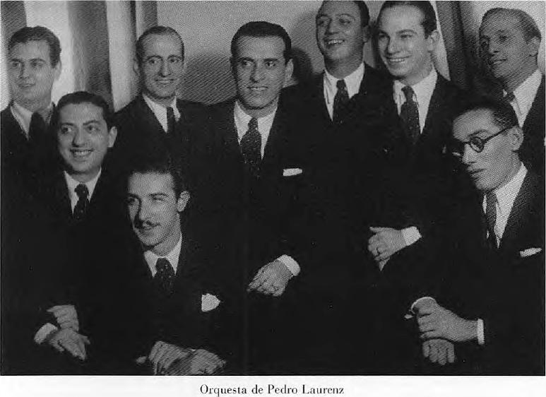 Pedro Laurenz y su Orquesta Típica.