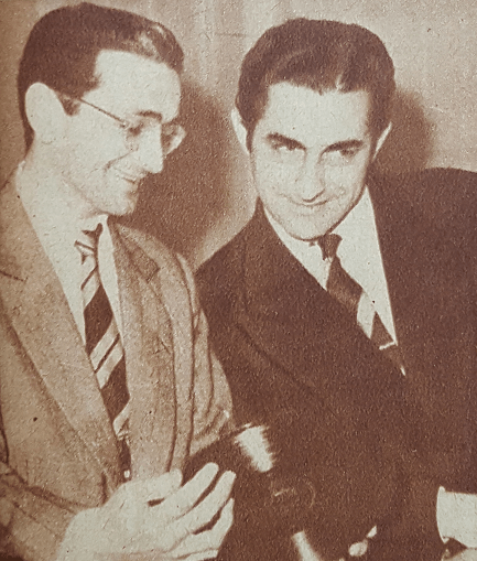 Osvaldo Pugliese and Roberto Chanel. Argentine music at Escuela de Tango de Buenos Aires.