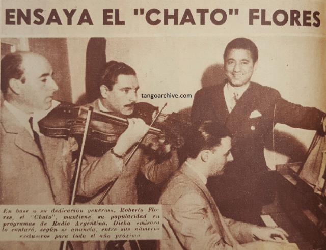 Roberto El Chato Flores y su orquesta | Argentine music to learn to dance at Escuela de Tango de Buenos Aires