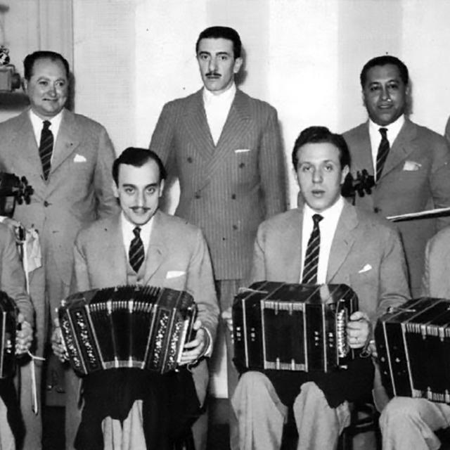 Rodolfo Biagi y su Orquesta Típica, Argentine Tango musician, leader and composer.