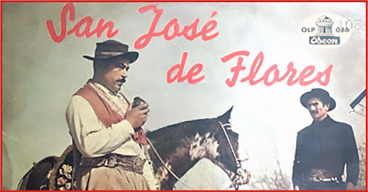 """""""San José de Flores"""", Argentine Tango vinyl record cover."""