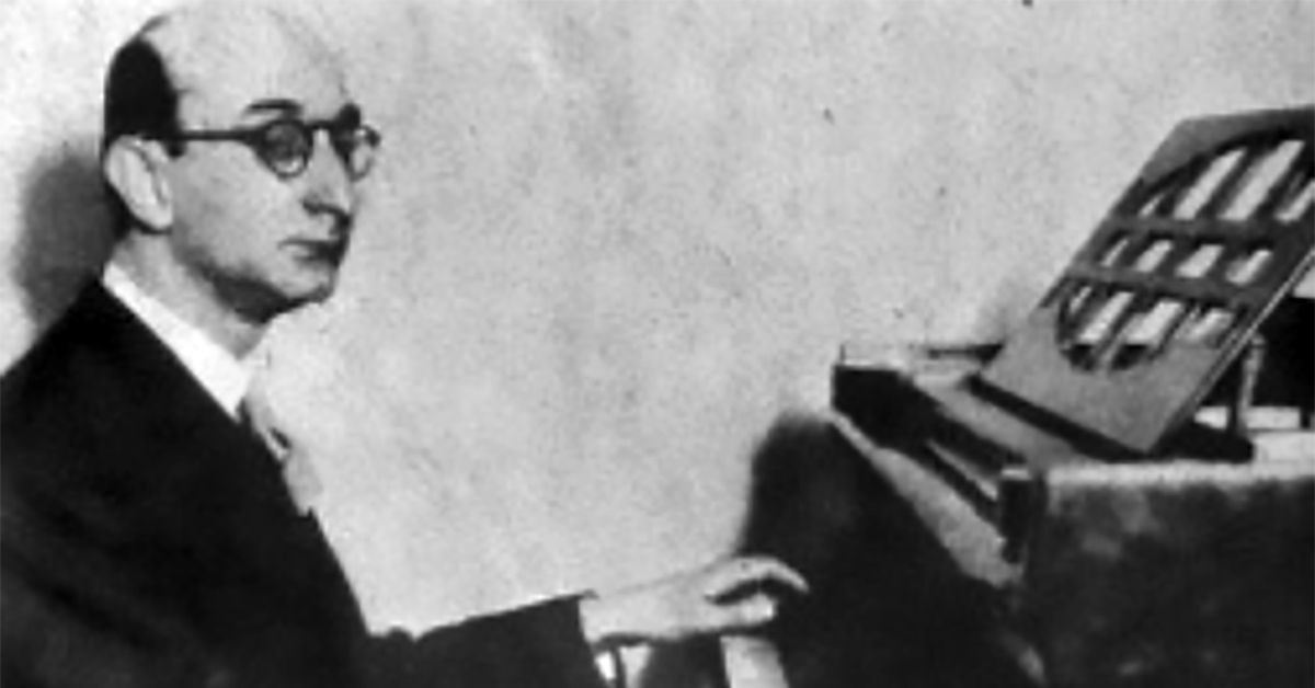 Sebastian Piana, Argentine Tango musician and composer.