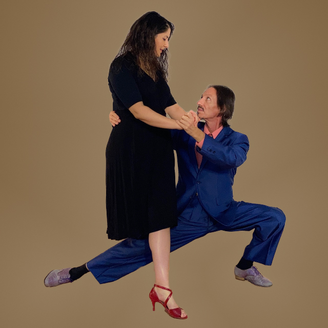 Argentine Tango virtual classes with Marcelo Solis and Mimi Mehaouchi.