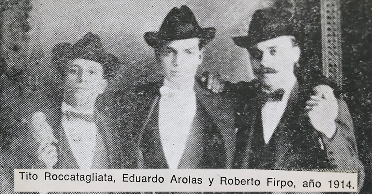 Tito Roccatagliata with Arolas and Firpo. Argentine Tango music.