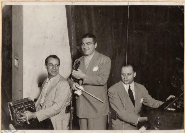 Enrique Francini. Argentine music at Escuela de Tango de Buenos Aires.