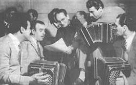 Osvaldo Pugliese. Argentine Tango music from Marcelo Solis collection. Escuela de Tango de Buenos Aires.