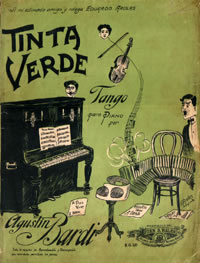 Tinta verde. Argentine music at Escuela de Tango de Buenos Aires.