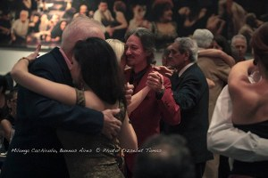 Marcelo Solis dancing at milonga in Buenos Aires