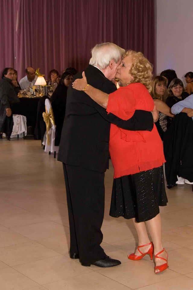Pocho y Nely. Maestros milongueros. Escuela de Tango de Buenos Aires.