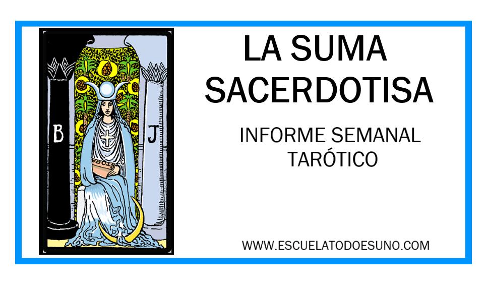 Carta de Tarot La sacerdotisa